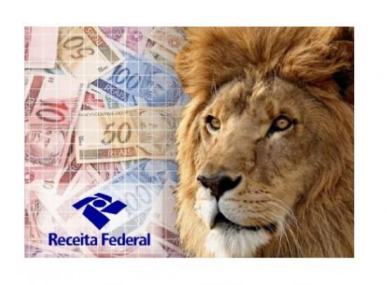 Resultado de imagem para imagem do leão da receita federal