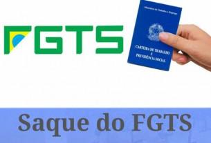Começa sexta saque de contas inativas do FGTS para nascidos entre junho e agosto