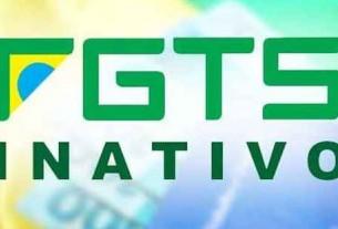 Saque de FGTS Inativo Deve Ser Declarado no Imposto de Renda